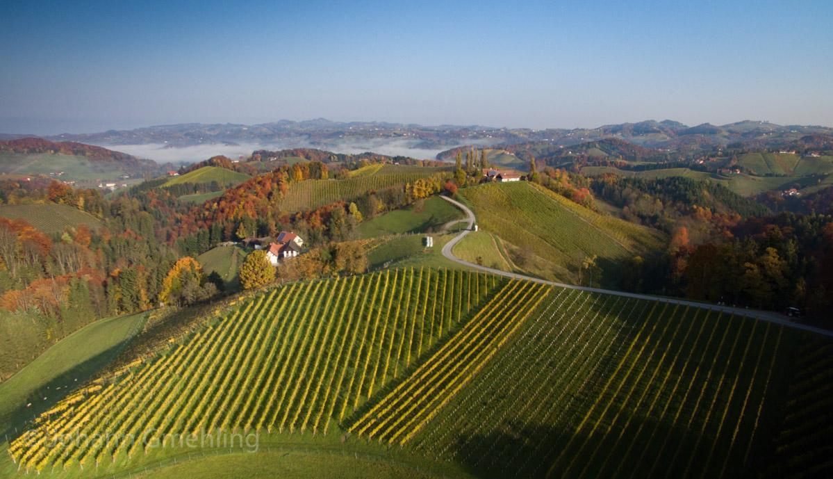Südsteiermark im Herbst