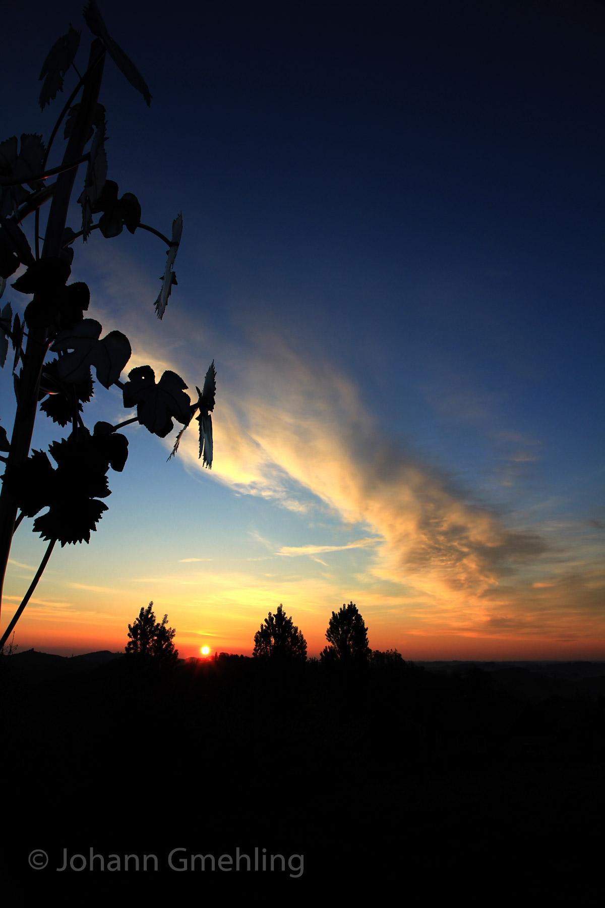 ein Morgen in der Südsteiermark