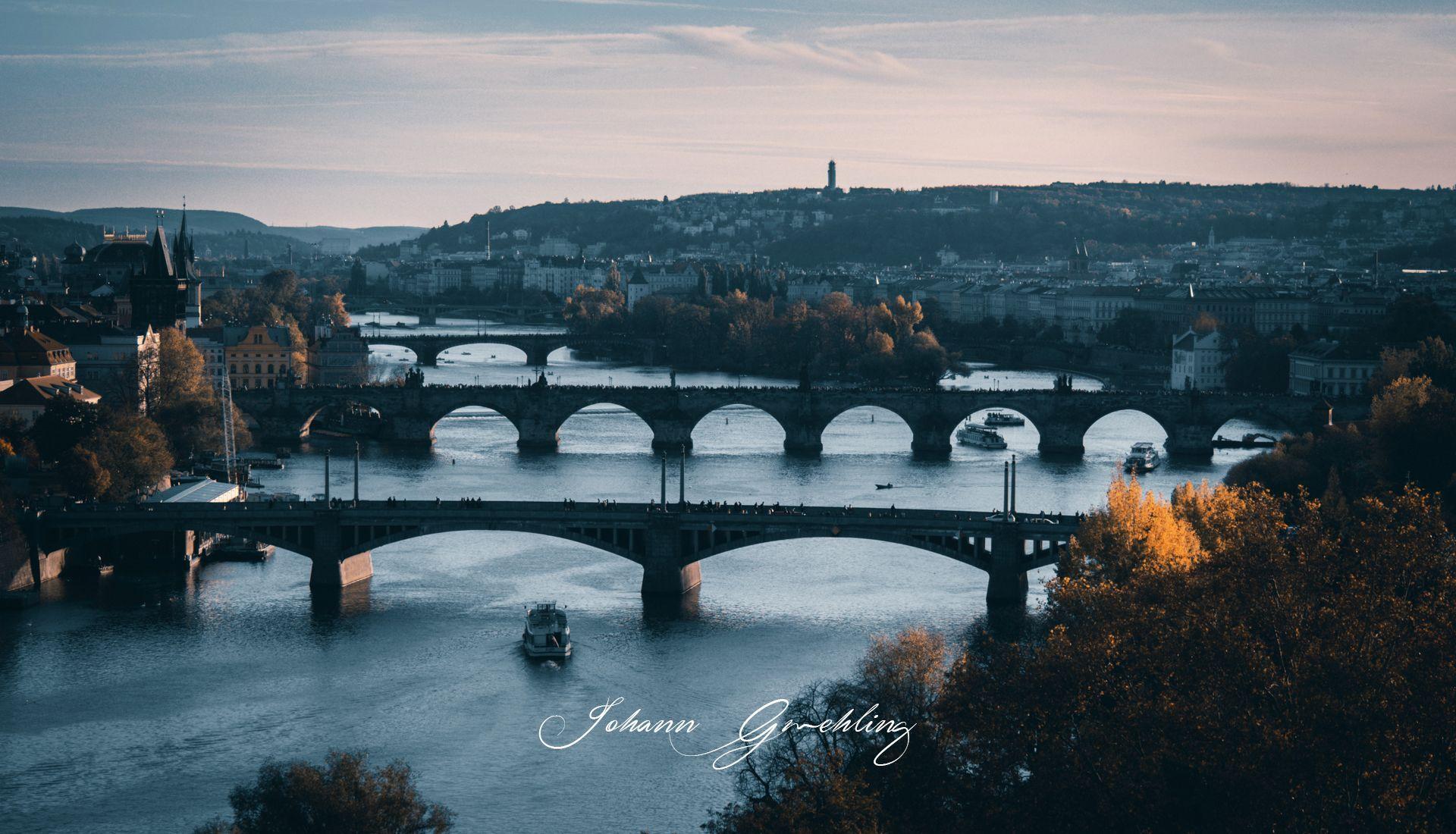 Bruecken von Prag